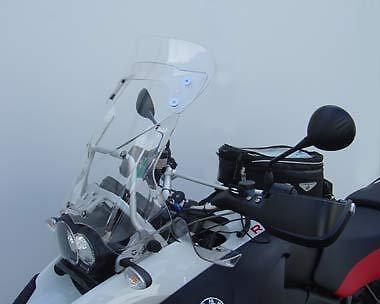 Laminar Lip for BMW R1200GS Adventure screen 2006-2013