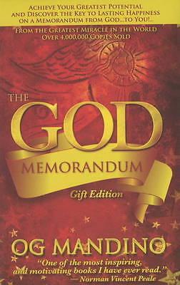 The God Memorandum by Og Mandino (Hardback, 2009)