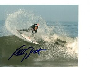 KELLY-SLATER-SIGNED-AUTOGRAPHED-PHOTO-SURFING-PROOF