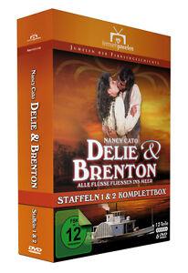 DELIE-UND-BRENTON-KOMPLETTBOX-Staffel-1-amp-2-12-Teile-Fernsehjuwelen-DVD