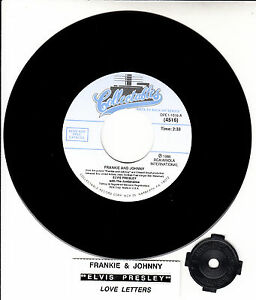 ELVIS PRESLEY Frankie And Johnny Amp Love Letters 7 45