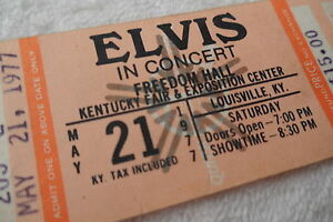 ELVIS-1977-Unused-CONCERT-TICKET-May-21st-Louisville-Kentucky
