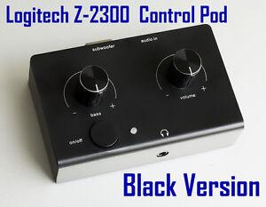 Logitech-Z-2300-Computer-Speakers-Control-Pod-New-Black-Version-Replacement-2300