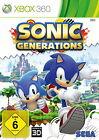 Sonic Generations (Microsoft Xbox 360, 2011, DVD-Box)