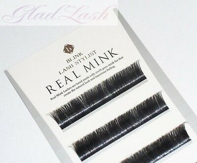 100% Real Mink Individual Single Strand Eyelash Extensions by Blink