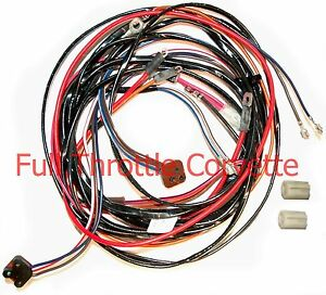 1972 1973 1974 corvette power window wiring harness image is loading 1972 1973 1974 corvette power window wiring harness