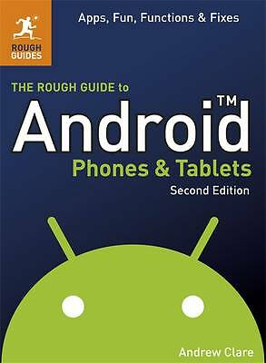 """""""AS NEW"""" The Rough Guide to Android Phones and Tablets, Clare, Andrew, Book"""