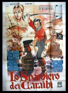 Lo-Sparviero-Dei-Caraibi-Johnny-Desmond-Italian-Movie-Poster-4F-60s