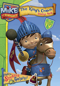 Mike-the-Knight-Sticker-Book-HIT-Entertainment-New-condition-Book