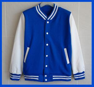 Men-Baseball-Jacket-Letterman-Varsity-jacket-Blue-L