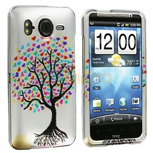 White-Love-Tree-Case-Cover-for-HTC-Inspire-4G-Phone