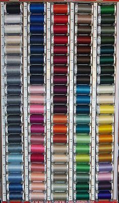 10 GUTERMANN 100% polyester sew-all thread 274 yard Spools *YOU CHOOSE COLORS*