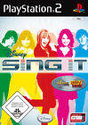 Disney Sing It (Sony PlayStation 2, 2008, DVD-Box)