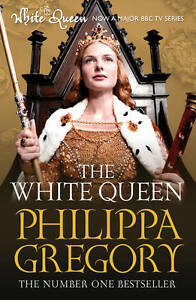 """AS NEW"" The White Queen (COUSINS' WAR), Gregory, Philippa, Book"