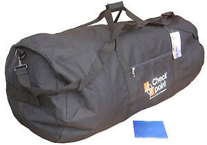 Jumbo-Large-Travel-Shoulder-Sports-Big-Holdall-Equipment-Kit-Flight-Bag-Black