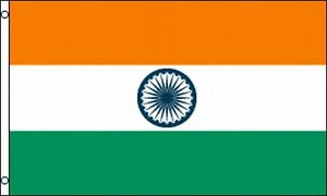 Flag-of-India-3x5-ft-Indian-National-Banner-Country-with-Grommets-Green-Orange