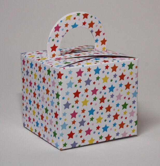 24 Single Cupcake / Favour  Boxes  STARS