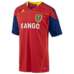 nwt~Adidas REAL SALT LAKE MLS USA Football Soccer Jersey Shirt Top ... df2c99e04