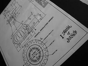 I-Dream-of-Jeannie-Bottle-Blueprint-Specialty-Jim-Beam-Decanter-Design-1964