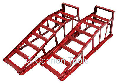 1 pair of steel car ramps new with next day delivery