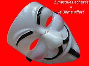 MASQUE-V-POUR-VENDETTA-ANONYMOUS-GUY-FAWKES-DEGUISEMENT-ADULTE-NEUF