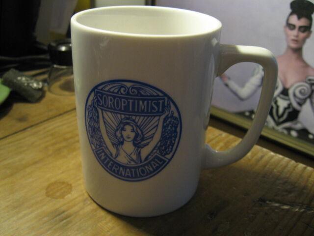 Soroptimist International of The Americas Sierra Pacific Region 1992 Coffee Cup