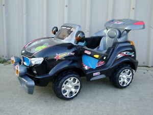 5-MPH-Super-Kids-Ride-On-Car-Power-Wireless-Remote-Control-Wheels-Black