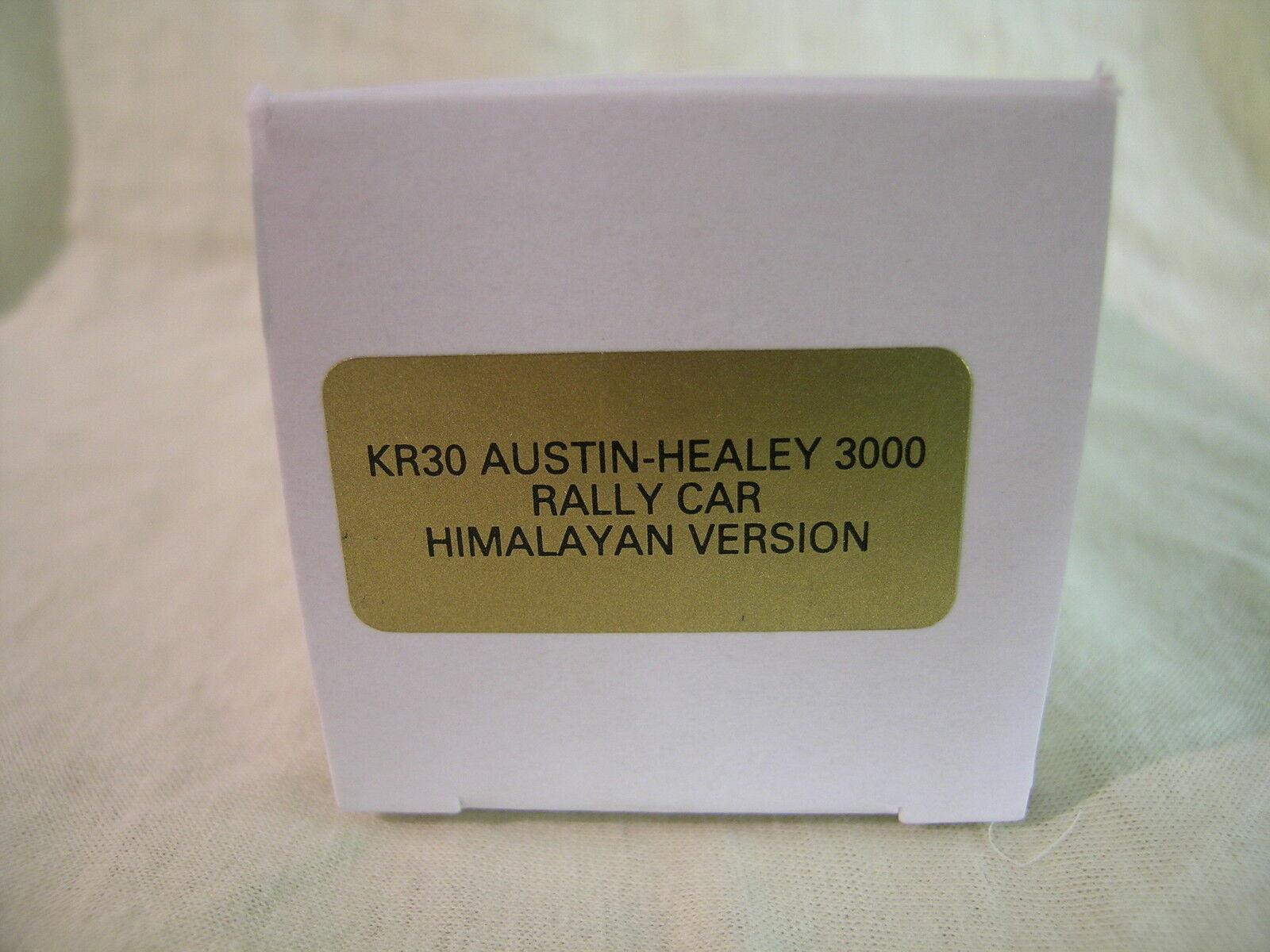 K&R UK AUSTIN-HEALEY 3000 3000 3000  HIMALAYAN RALLYE 6 RED WHITE HAND BUILT + BOX 1 43 926ebc