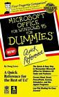 Microsoft Office for Windows '95 for Dummies Quick Reference by Doug Lowe (Paperback, 1996)