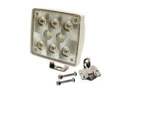 boat spreader spot light led 12 volt marine pair 2 ebay. Black Bedroom Furniture Sets. Home Design Ideas