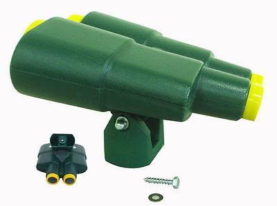 Jumbo Playground Binoculars GREEN NEW Cubby House Accessories Swings Slides