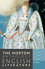 The Norton Anthology of English Literature: v. 1 by WW Norton & Co (Paperback, 2012)