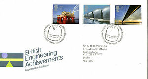25-MAY-1983-ENGINEERING-ACHIEVEMENTS-ROYAL-MAIL-FIRST-DAY-COVER-BUREAU-SHS