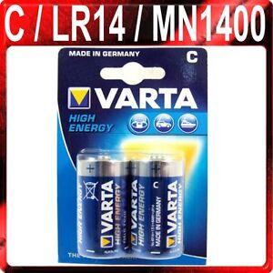 Batterie Baby C : 2 x c varta high energy batteries alkaline batteries ~ Watch28wear.com Haus und Dekorationen