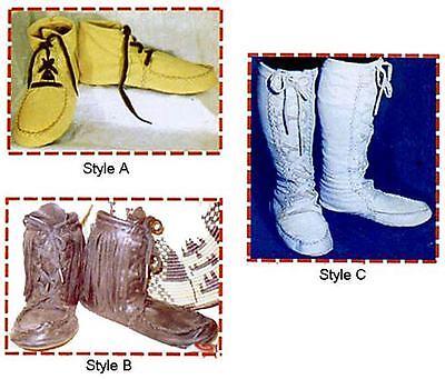 Keltoi, Mukluk, Highlander, Moccasin Boot Sewing Pattern - SCA