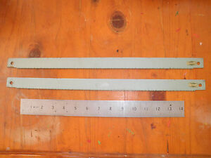 2-Pieces-England-HSS-Power-Hacksaw-Blade-ESC-17-034-x1-034-x-10T