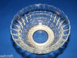 KIG-INDONESIA-SILVER-PLATED-FOOTED-GLASS-SUGAR-BOWL-FLORAL-DESIGN