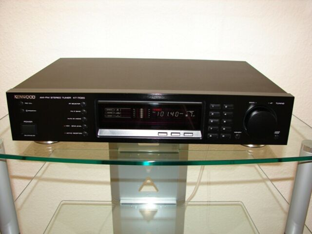Kenwood KT-7020 High-End Stereo-Tuner in schwarz