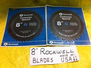 Set of 2 rockwell top usa brand 8 combination rip for Best garden tools brand