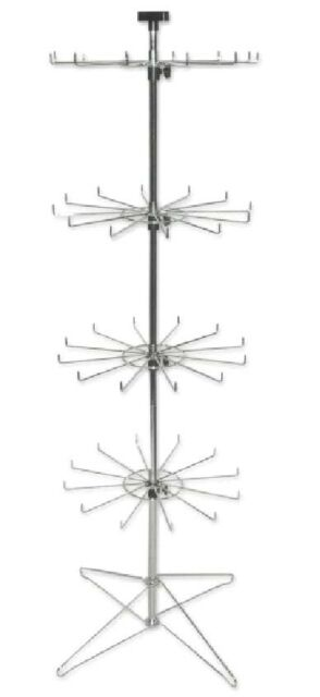 Floor 12 prongs Spinner Display Stand Rack SPIN-SP230