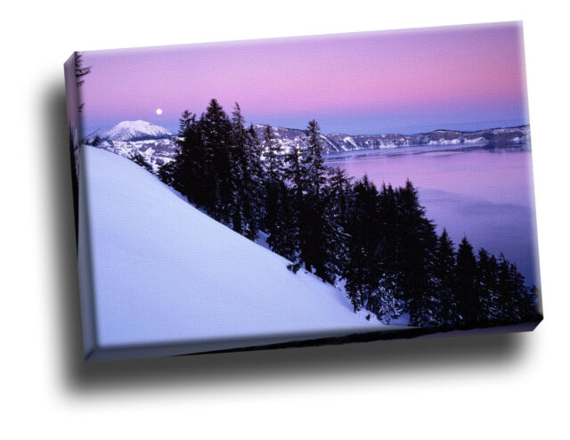 Crater Lake National Park, Oregon Canvas Framed Picture Wall Art