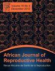 African Journal of Reproductive Health: Vol.16, No.4, Dec. 2012 by Brown Walker Press (FL) (Paperback / softback, 2012)