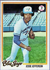 1978 Topps Jesse Jefferson Toronto Blue Jays #144 Baseball Card