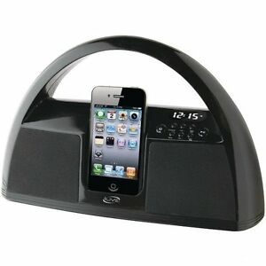 iLive-Portable-Music-System-for-iPod-amp-iPhone-Audio-Dock-amp-FM-Radio-IBP181B