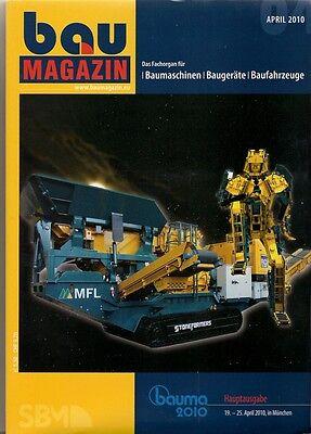 hauptausgabe Bauma 2010 Baumagazin April 2010 Fachbücher Literatur