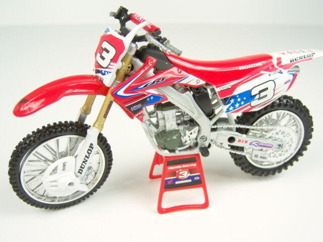 Andrew Short Honda Racing  MX of Nations Modell 1:12 MX Moto Cross model
