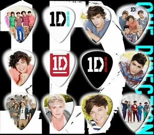 One-Direction-Guitar-Picks-Set-of-12-Limited-Edition