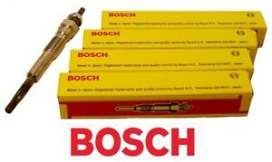 BOSCH-DIESEL-GLOW-PLUGS-Toyota-Prado-1KZTE-KZJ95-KZN165-KZN185-3-0L