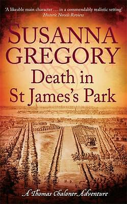 Death in St James's Park by Susanna Gregory - H/B Book