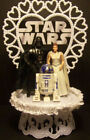 Starwars Star Wars Princess Leia Darth R2d2 Wedding Cake Topper